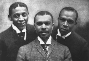 robert cole, james weldon johnson, and j. rosamond johnson